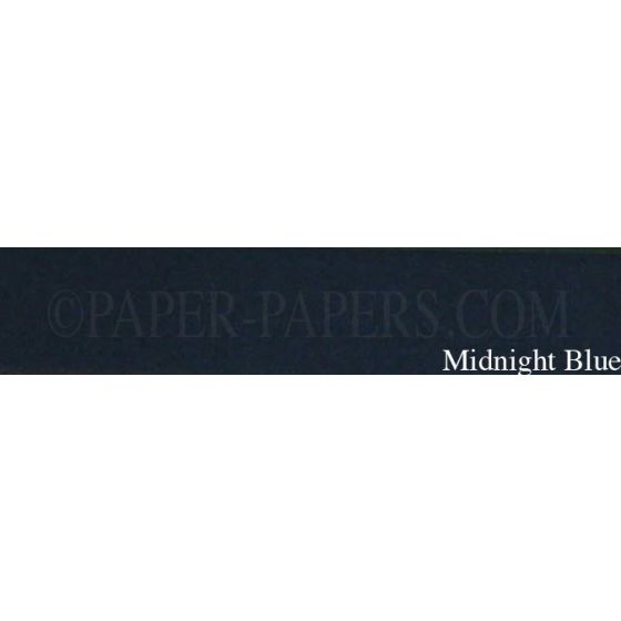 Royal Sundance Linen - MIDNIGHT BLUE - 23 x 35 Cardstock Paper - 80LB Cover