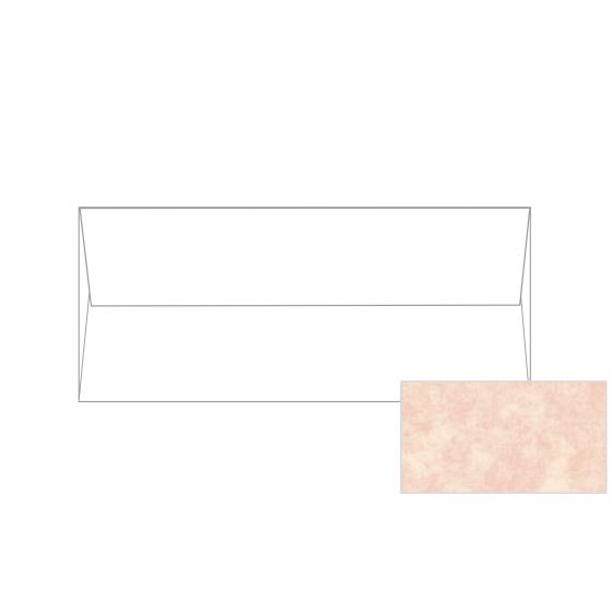 Astroparche - Shell No. 10 Square Flap Envelopes (4.125-x-9.5-inches) - 2500 PK