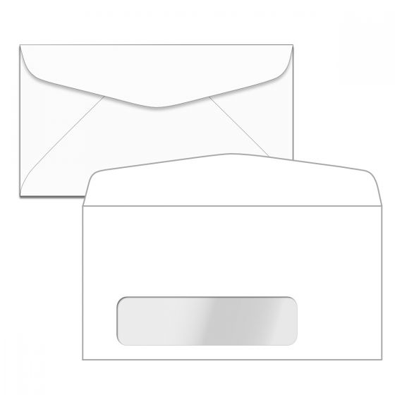 No. 7 Window Envelopes (3-3/4-x-6-3/4) - 24lb White Wove (Diagonal Seam) - 5000 PK
