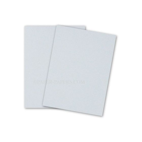 [Clearance] Crane 8.5 x 11 Card Stock Paper - AZURE BLUE - 100% Cotton - 134 Cover - 25 PK