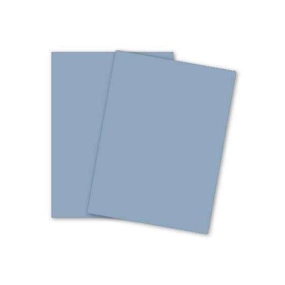[Clearance] Crane 8.5 x 11 Card Stock Paper - DALTON BLUE - 100% Cotton - 134 Cover - 250 PK
