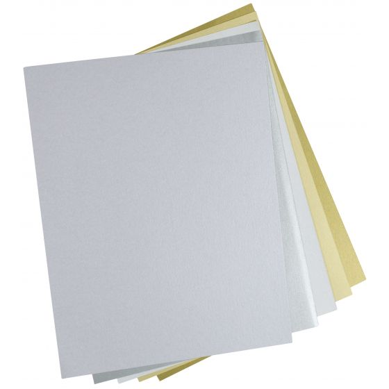 Shine LILAC - Shimmer Metallic Card Stock Paper - 8.5 x 11 - 107lb Cover (290gsm) - 500 PK