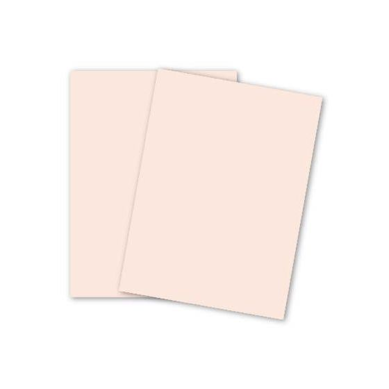 [Clearance] Crane 8.5 x 11 Card Stock Paper - PINK - 100% Cotton - 134 Cover - 250 PK