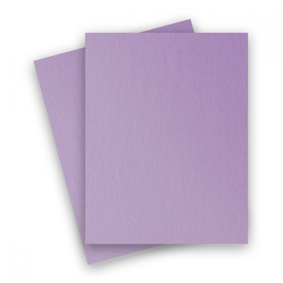 Stardream Metallic - 8.5X11 Card Stock Paper - AMETHYST - 105lb Cover (284gsm) - 25 PK