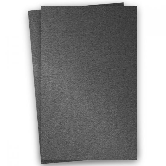 Stardream Metallic 11X17 Card Stock Paper - ANTHRACITE - 105lb Cover (284gsm) - 100 PK
