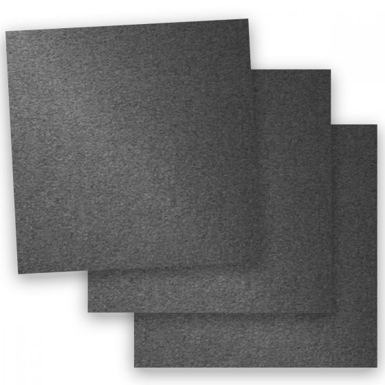 Stardream Metallic - 12X12 Card Stock Paper - ANTHRACITE - 105lb Cover (284gsm) - 100 PK [DFS-48]