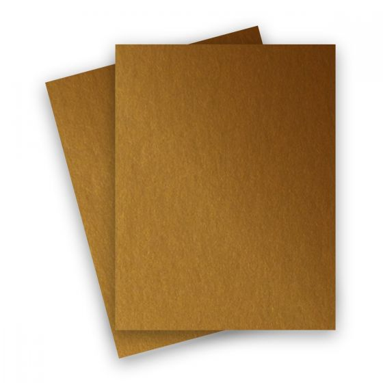 Stardream Metallic - 8.5X11 Card Stock Paper - ANTIQUE GOLD - 105lb Cover (284gsm) - 250 PK [DFS-48]