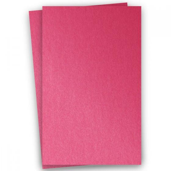 Stardream Metallic 11X17 Card Stock Paper - AZALEA - 105lb Cover (284gsm) - 100 PK