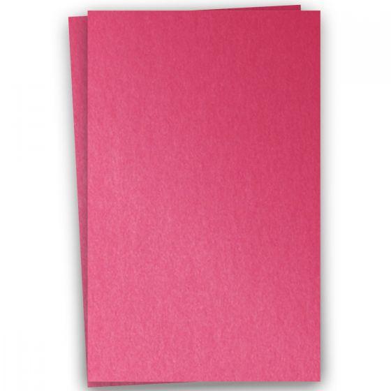 Stardream Metallic - 12X18 Card Stock Paper - AZALEA - 105lb Cover (284gsm) - 100 PK
