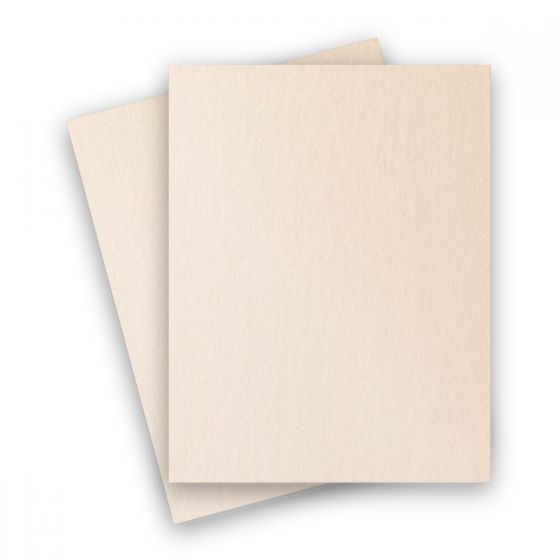 Stardream Metallic - 8.5X11 Paper - CORAL - 81lb Text (120gsm) - 25 PK