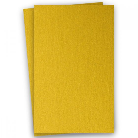 Stardream Metallic 11X17 Card Stock Paper - FINE GOLD - 105lb Cover (284gsm) - 100 PK