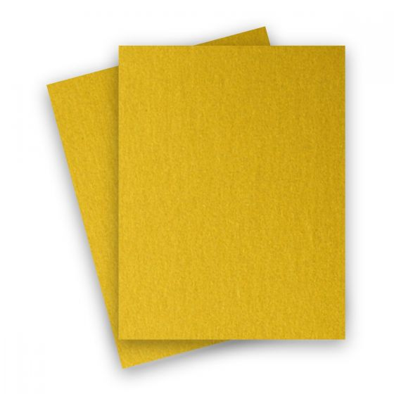 Stardream Metallic - 8.5X11 Card Stock Paper - FINE GOLD - 105lb Cover (284gsm) - 250 PK