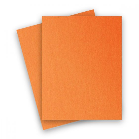 Stardream Metallic - 8.5X11 Card Stock Paper - FLAME - 105lb Cover (284gsm) - 250 PK