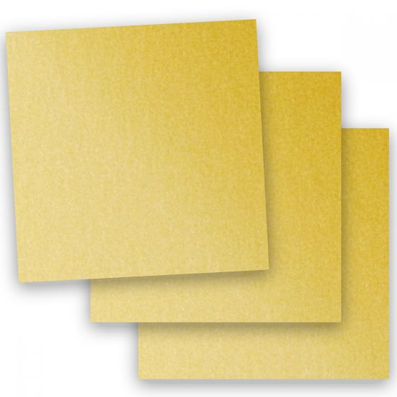 Stardream Metallic - 12X12 Card Stock Paper - GOLD - 105lb Cover (284gsm) - 100 PK