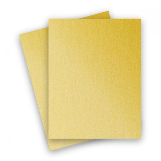 Stardream Metallic - 8.5X11 Card Stock Paper - GOLD - 105lb Cover (284gsm) - 25 PK [DFS]