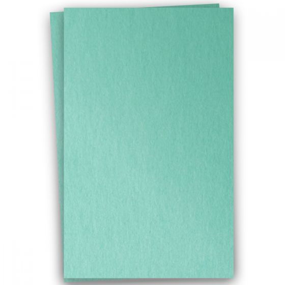 Stardream Metallic - 12X18 Card Stock Paper - LAGOON - 105lb Cover (284gsm) - 100 PK [DFS-48]