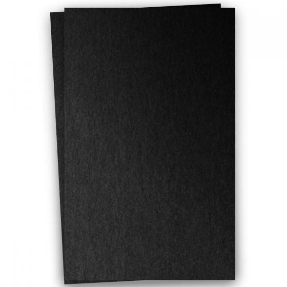 Stardream Metallic - 12X18 Card Stock Paper - ONYX - 105lb Cover (284gsm) - 100 PK [DFS-48]