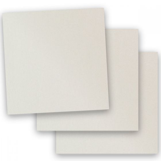 Stardream Metallic - 12X12 Card Stock Paper - QUARTZ - 105lb Cover (284gsm) - 100 PK