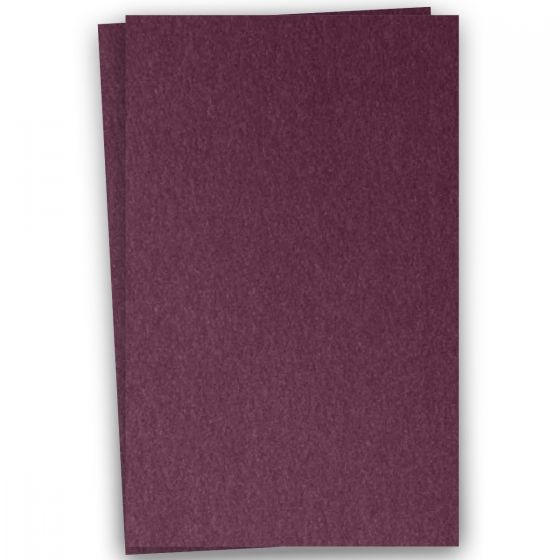 Stardream Metallic - 12X18 Card Stock Paper - RUBY - 105lb Cover (284gsm) - 100 PK