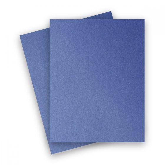 Stardream Metallic - 8.5X11 Card Stock Paper - SAPPHIRE - 105lb Cover (284gsm) - 25 PK [DFS]