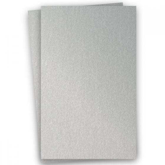 Stardream Metallic 11X17 Card Stock Paper - SILVER - 105lb Cover (284gsm) - 100 PK [DFS-48]