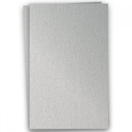 Stardream Metallic - 12X18 Card Stock Paper - SILVER - 105lb Cover (284gsm) - 100 PK [DFS-48]