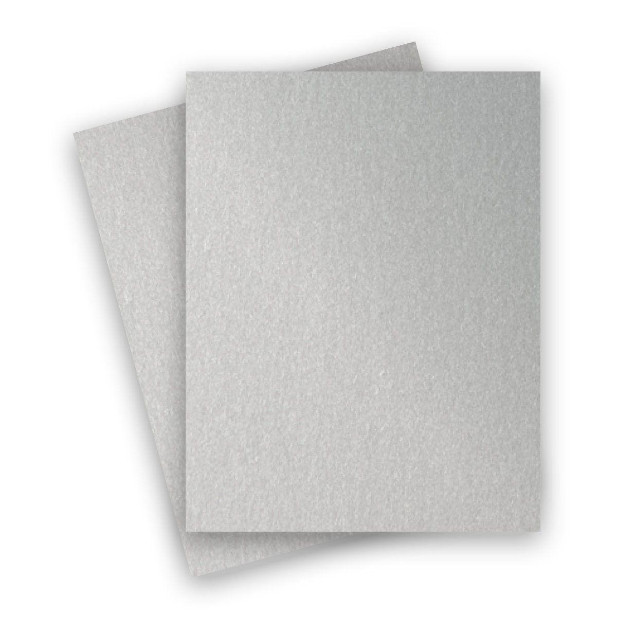 Stardream Metallic - 8.5X11 Card Stock Paper - SILVER ...
