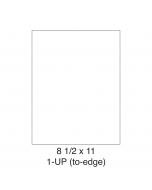 1 UP Full-Sheet Shipping Labels - 5165 Compatible - 1 Labels per Sheet / 25 Sheets