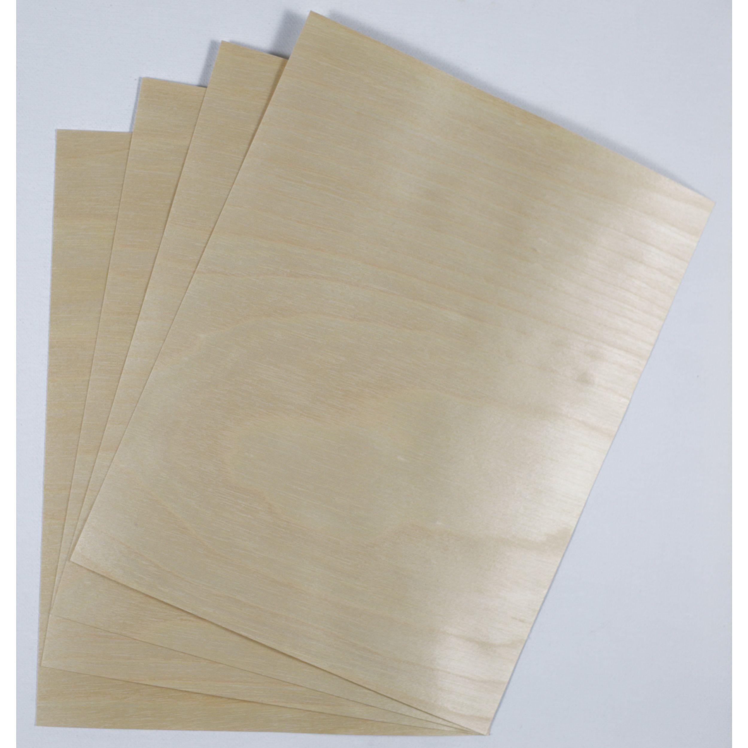 Crafters Wood Paper 8 5 X 11 12pt Birch Veneer Sheets