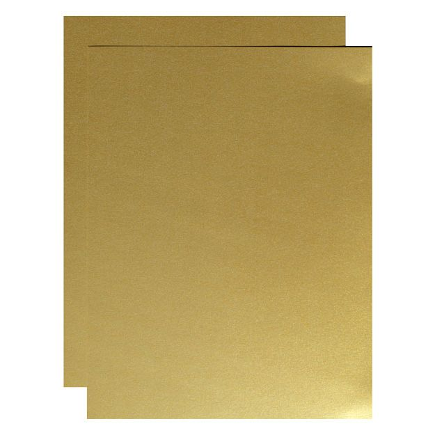 92 lb Cover Printer Friendly Letter Size Sheets Craft Use Birthdays Double Sided Gold Shimmer Paper 100-Pack Metallic Cardstock Paper 8.5 x 11 Inches Perfect for Weddings