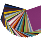 BASIS COLORS - 8.5 x 11 CARDSTOCK PAPER - 80LB COVER - TRY-ME Pack