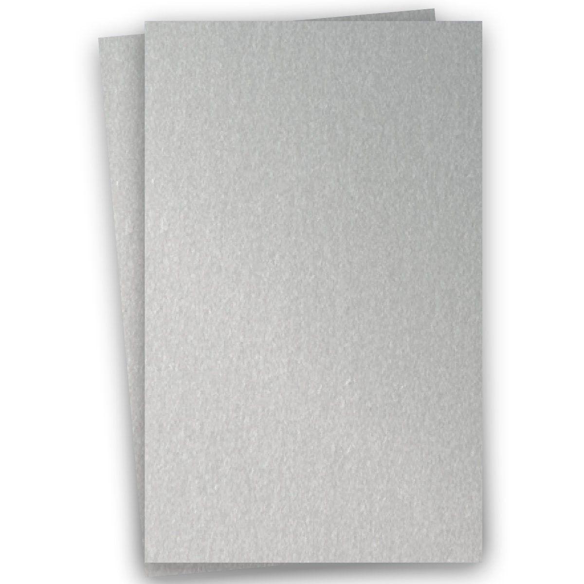 Stardream Metallic 11X17 Card Stock Paper - SILVER - 105lb ...