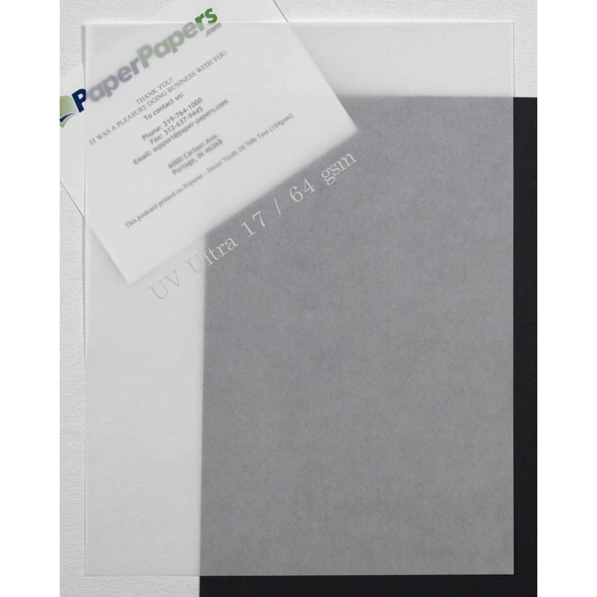 neenah uv ultra ii translucent vellum white 8 5 x 11 paper 17lb