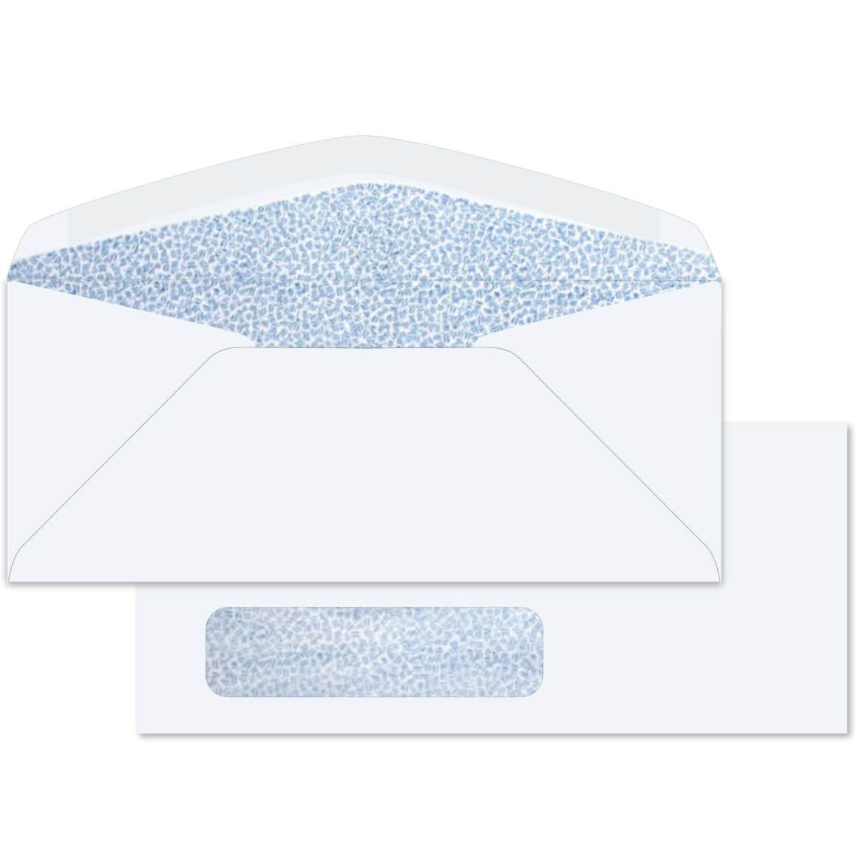 Envelopes B6//25 St Wet-Adhesive White 12,5 x 17,6 cm