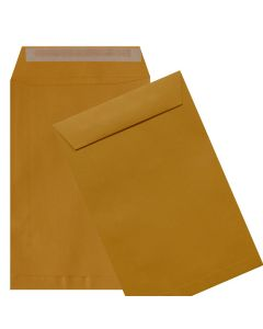 6X9 Catalog Envelopes - 28lb BROWN KRAFT - Peel to Seal - (6 x 9) - 500 PK [DFS-48]