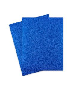 Glitter Paper - Glitter BLUE (1-Sided) 8.5X11 Letter Size - 10 PK [DFS]