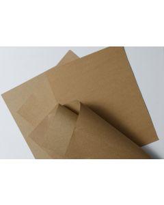 2PBasics Rustic KRAFT Brown Bag 65C 8.5-x-11-inch - 50 Sheets per pack [DFS]