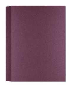 Shimmer Garnet Plum 107C (5X7) A7 Flat Cards - 50 pack