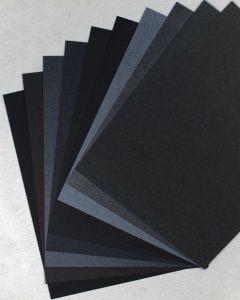 FAVORITE PAPERS - Black - 8.5 x 11 Cardstock - TRY-ME Pack [DFS]