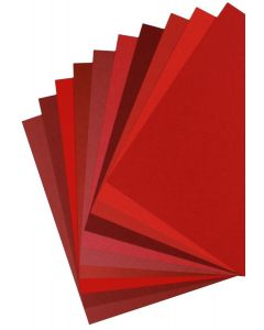 Favorite Red Cardstock sampler pack