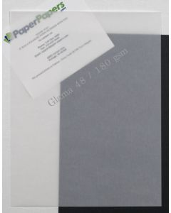 CTI Glama Natural Translucent (Vellum) CLEAR 8.5 x 11 Paper - 48lb Cover - 25 PK [DFS]