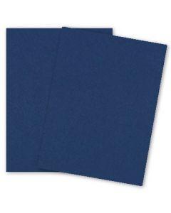 BASIS COLORS - 8.5 x 11 CARDSTOCK PAPER - Navy - 80LB COVER - 1200 PK [DFS-48]