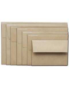 Brown Bag Envelopes - KRAFT - A10 Envelopes - 800 PK [DFS-48]