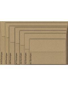 Neenah Environment DESERT STORM (80T/Smooth) - A9 Envelopes (5.75 x 8.75) - 1000 PK [DFS-48]