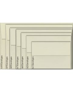 Neenah Environment NATURAL WHITE (80T/Smooth) - A1 Envelopes (3.625 x 5.125) - 2500 PK [DFS-48]