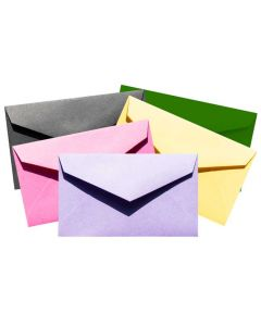 Business Card Envelopes - MINI Envelopes - Color Mix - Professional MINI (2.125-in x 3.625-in) - 500 PK [DFS-48]