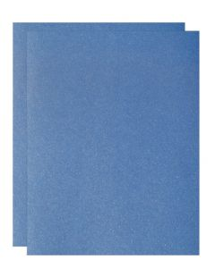 FAV Shimmer Blue Sodalite - 8.5 x 14 Legal Size Card Stock Paper - 107lb Cover (290gsm) - 150 PK