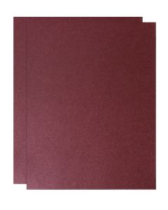 FAV Shimmer Garnet Plum - 8.5 x 14 Legal Size Card Stock Paper - 107lb Cover (290gsm) - 150 PK