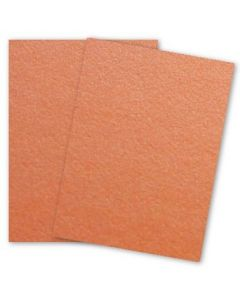 [Clearance] Curious Metallic - MANDARIN Card Stock - 111lb Cover - 8.5 x 11 - 250 PK