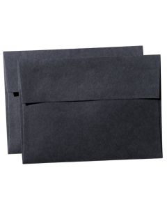REMAKE Black Midnight (121T) - A7 Envelopes (5.25-x-7.25) - 25 PK [DFS]